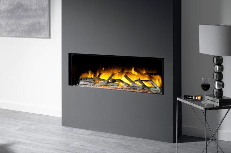 Flamerite Glazer 3-2-1 Sided Fire