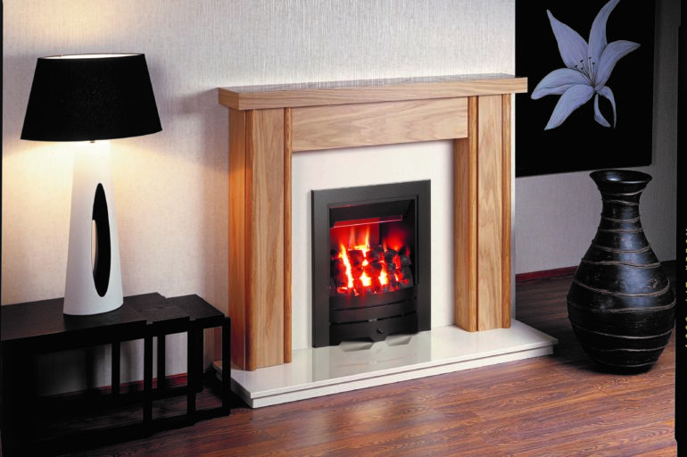 Nuflame Energis Ultra open fronted